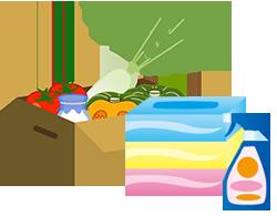 食材全般・日用品が届く宅配サービス